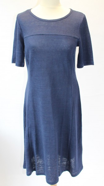 Kleid 3/4 -Arm uni