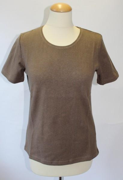 Hanf-T-Shirt Rundhals