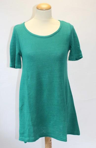 Tanja Bach Leinen-Jersey-Shirt A-Linie fair und nachhaltig in Deutschland hergestellt