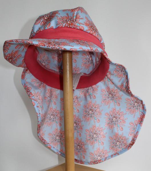 Mütze mit Nackenschutz