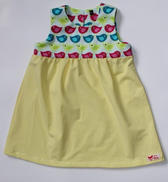 Kleid gerafft