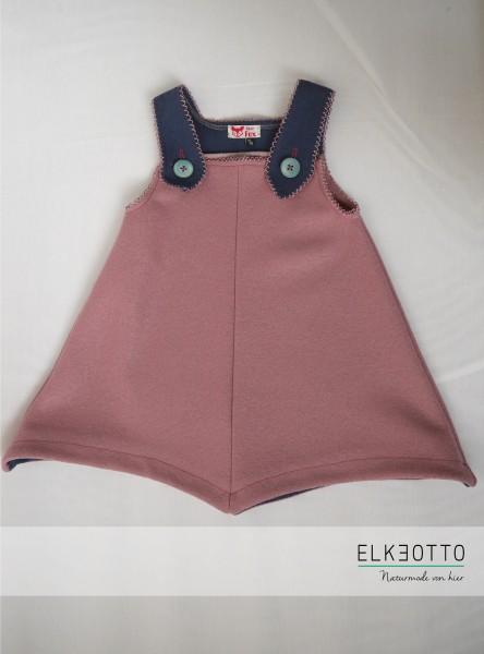 Trägerkleid rosa/blau