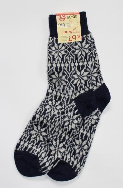 Norweger-Sterne-Socke
