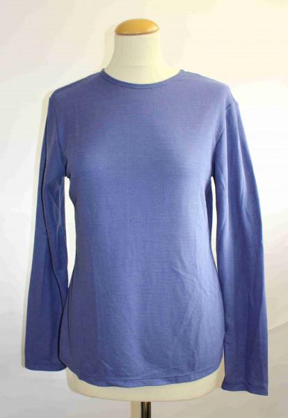 Shirt Rundhals Seide/Wolle