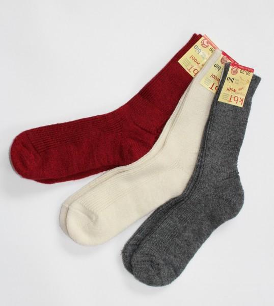 Plüschsohlen-Socke
